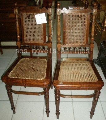 6 Cadeiras Império