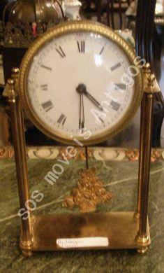 Relógio Dourado L:0,15 A:0,22