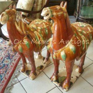 Par De Cavalos Porcelana A:0,90