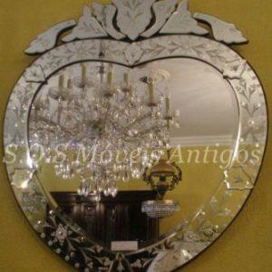 Espelho Coração A:0,97 L:0,80