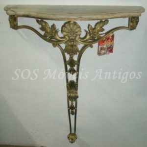 Aparador Bronze C/ marmore L:0,73 P:0,30 A:0,85