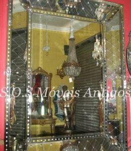 Espelho Veneziano Bacarat A:1,70 L:1,30