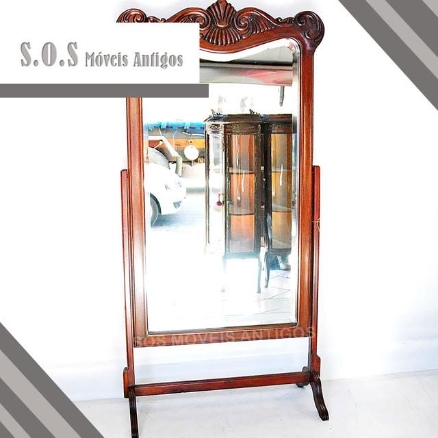 Espelho-de-Chão-Móvel-Estilo-Inglês