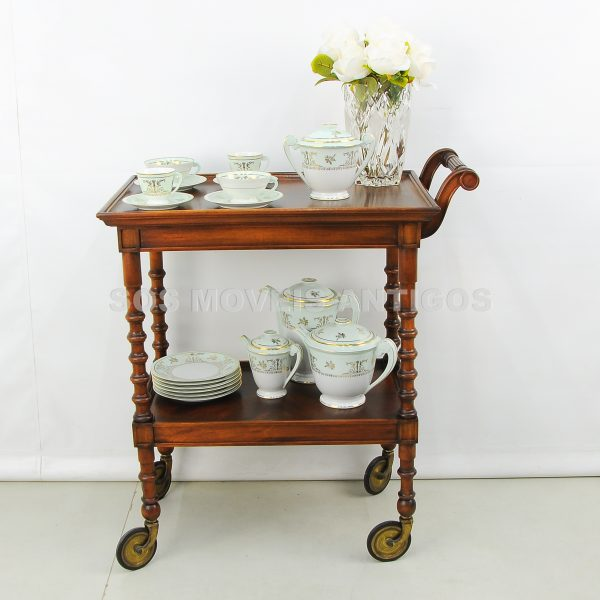 Carrinho de chá/Apoio/Barzinho estilo Império